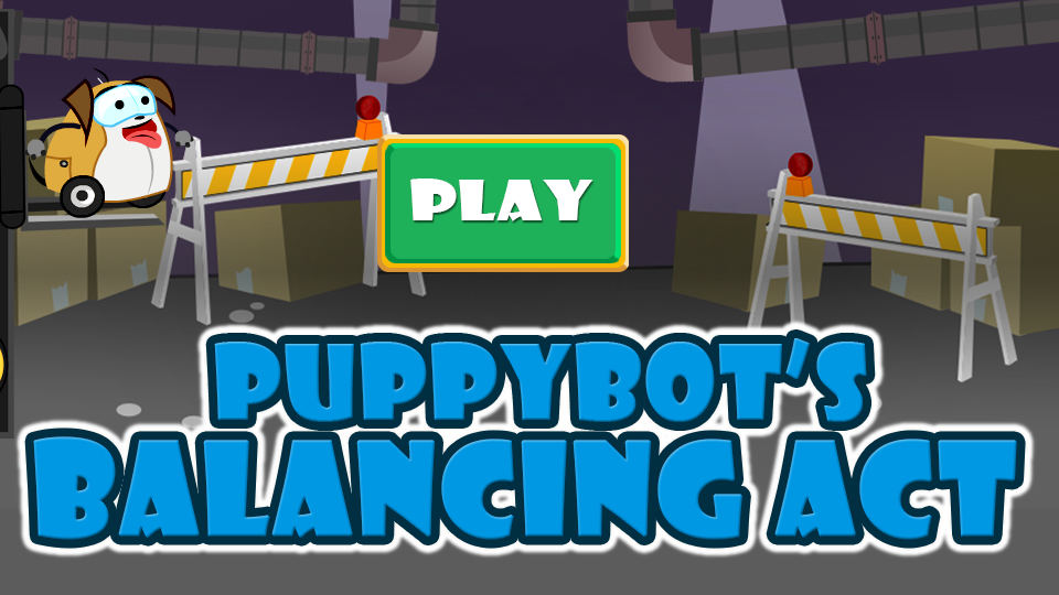 play PuppyBot Balancing Act game