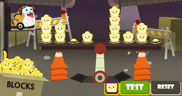 Preview of PuppyBot's Balancing Act game