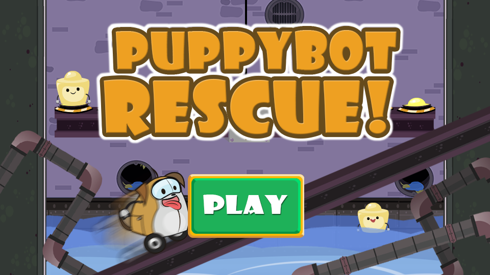 play PuppyBot Rescue game